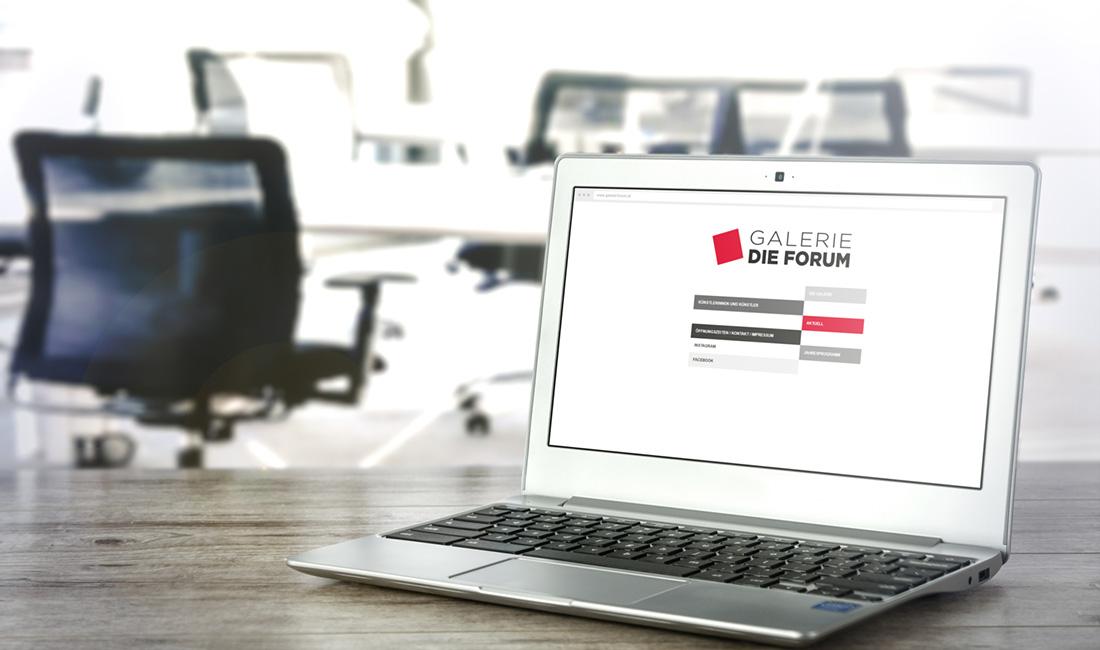 Website Galerie Die Forum